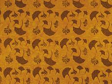 Yellow and Maroon Leaves Sarong