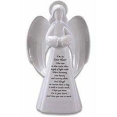 Memorial Guardian Angel Figurine