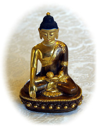 """Shakyamuni Buddha statue, 8"""""""