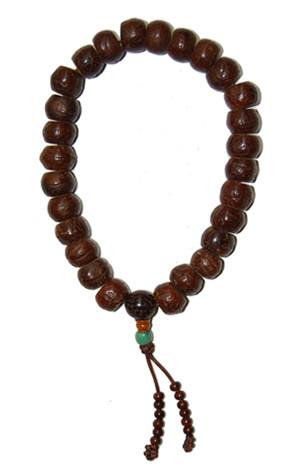 Antique Bodhiseed Wrist Mala
