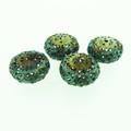 "Metal Filigree Beads - ""Brocade"""