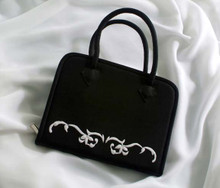Black and White Tool Tote