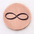 Infinity Symbol Stamp Sample