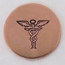 Caduceus Stamp Sample