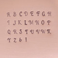 Vella Uppercase/Lowercase Combo Set 3mm (NEW)