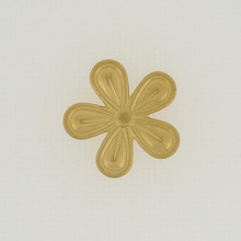 Large Textured Brass Flower