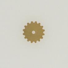 Brass Solid Gear, 16mm