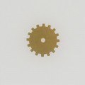 Brass Solid Gear, 19mm