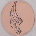 Left Angel Wing Metal Stamp