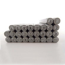 Chronos Uppercase Metal Stamps