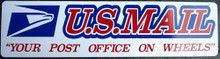 YOUR POST OFFICE ON WHEELS