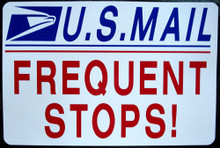 U.S. MAIL FREQUENT STOPS (Jeep)