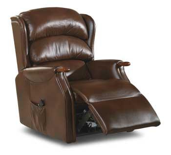 Celebrity westbury grande leather single motor lift tilt for Westbury leather sofa