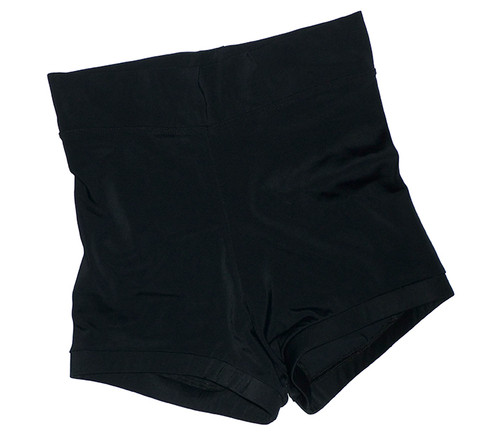 Black High Waisted Booty Shorts