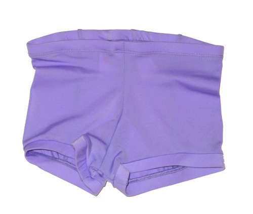 Lilac Low Waisted Booty Shorts