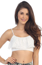 Lace Cami Bra Top - Adult