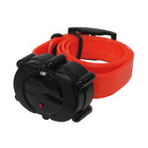 D.T. Systems Micro-iDT Remote Dog Trainer Add-On Collar Black Orange
