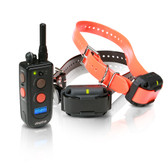 Dogtra Training and Beeper 3/4 Mile 2 Dog Remote Trainer Black / Orange
