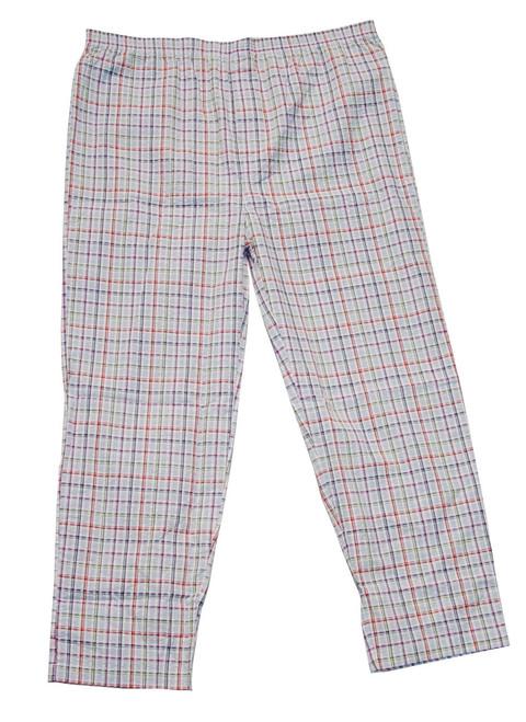 Light Weight Plaid Lounge Pants XL, 2X, 3X, 4X