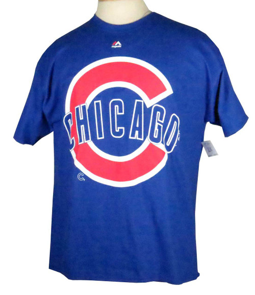 Majestic Chicago Cubs Big C Tee 3X