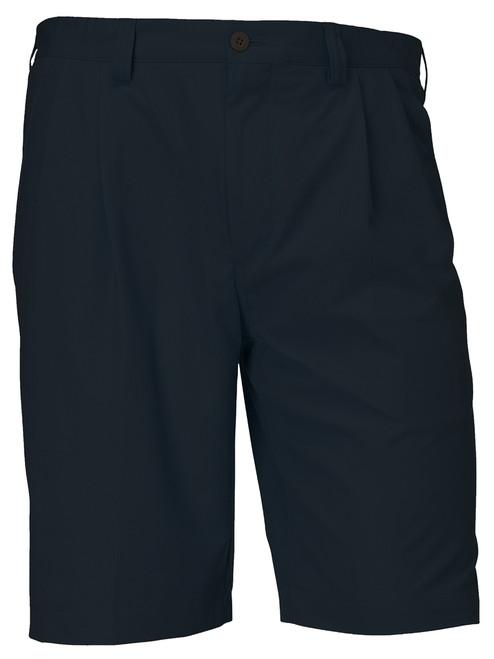 Cutter & Buck Orin Fine Twill Pleated Black Shorts 44, 46, 48, 50, 52, 54, 56
