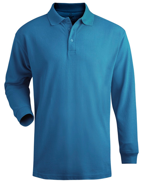Edwards Long Sleeve Pique Polo 5 colors 2X, 3X, 4X, 5X, 6X