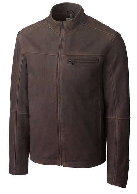 Cutter & Buck Kinney Leather Jacket 2X, 2XT, 3X, 3XT