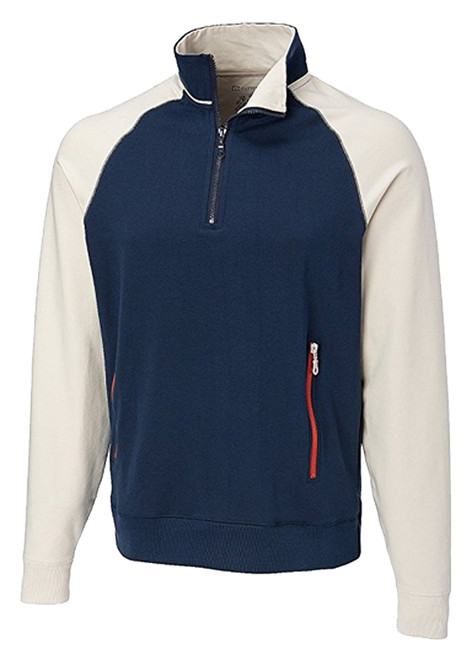 Cutter & Buck Ballinger Half Zip Fleece 2 Colors 2X, 3X, 4X, 5X