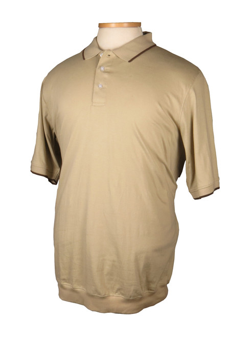 King Size Banded Bottom Knit Shirt 3 Colors 2XT, 3XT, 4XT, 5XT, 6XT