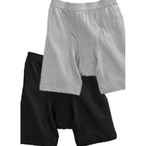 Players Underwear Mid-Length Brief Singles 100% Cotton 2X, 3X, 4X, 5X, 6X, 7X