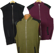 King Size Full-Zip Vest 3 Colors 3X, 5X