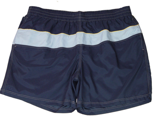 Navy with Light Blue Stripe, Small Yellow Stripe