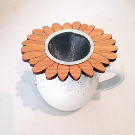 Sunflower Wood Tea Steeper