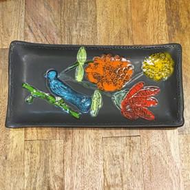 Lisa Neimeth Serving Platter with Birds