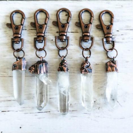 Hawkhouse Crystal Keychain
