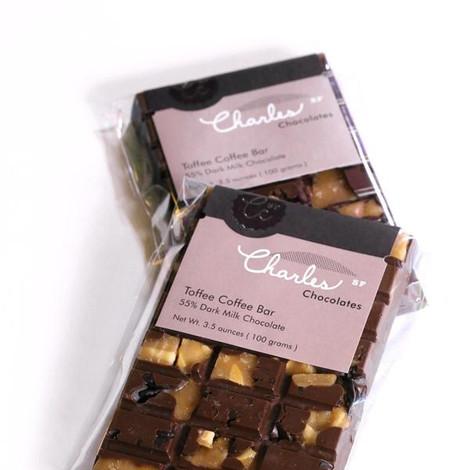 Charles Chocolates Toffee Coffee Bar