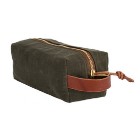 Dopp Kit - Olive Wax