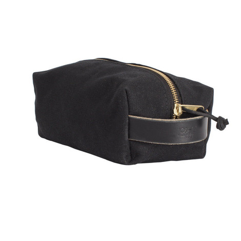 Dopp Kit - Black Wax