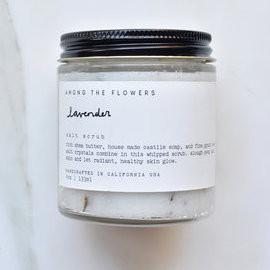 Lavender Infused Salt Scrub