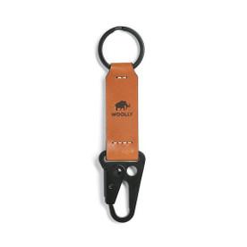Clip Keychain - Black/Brown