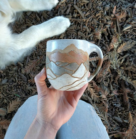 Rust Mountain Mug