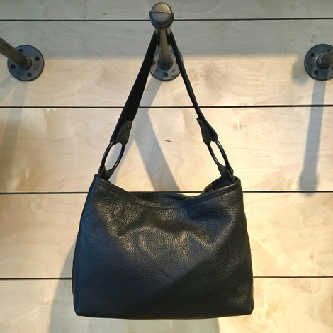 Tracy Leather Bag - Black