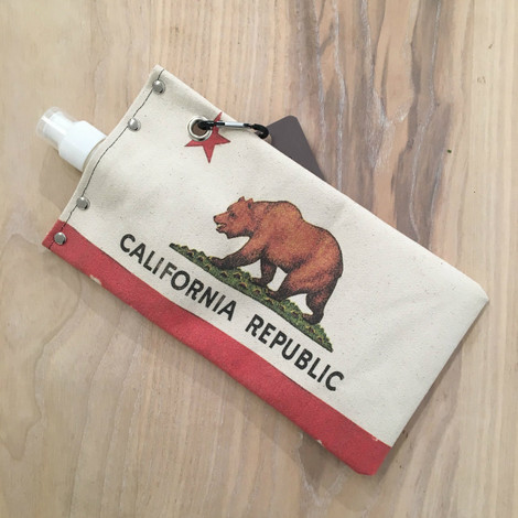California Flag Wine + Beverage Holder