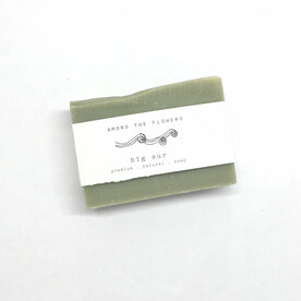 Bar of soap with essential oils