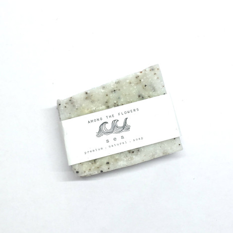 soap with lime notes and sea salt