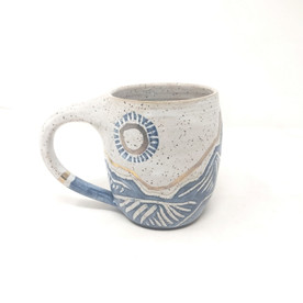 Blue and Gold Mug