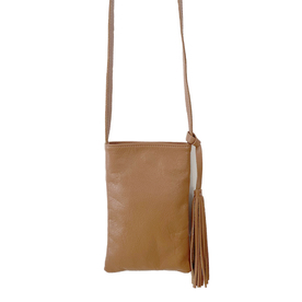 Smooth Leather Crossbody Back