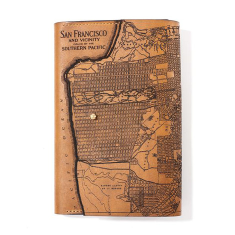 San Francisco Map Journal Cover