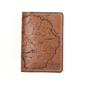 Yosemite Leather Passport Cover