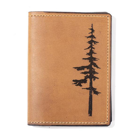Nature Leather Passport Cover
